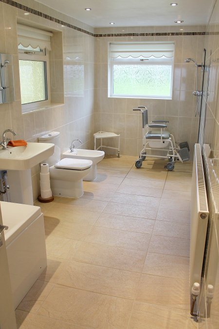 Disabled bathroom adaptations derby disabled bathroom for Bathroom design derby